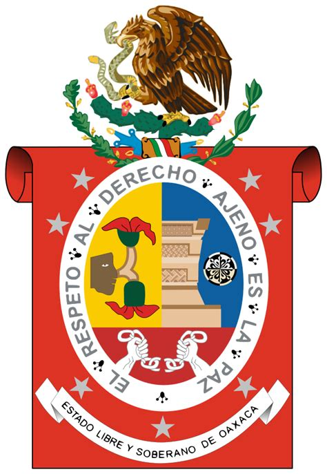 archivo oaxaca escudo svg la enciclopedia libre