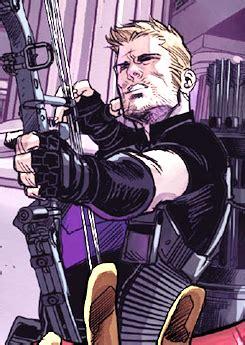 Clint Barton Hawkeye Avengers World