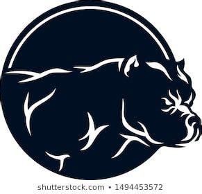 It is perfect for a crafter with a silhouette or cricut cutting machine. american bully simple logotype design 260nw male female ...