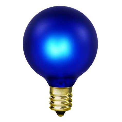 15w cobalt blue light bulb g16 5 candelabra