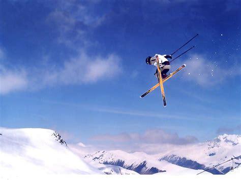 Skiing Background Le Ski Gamarra