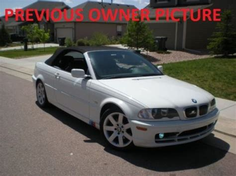 2003 Bmw 325ci Convertible by Buy Used 2003 Bmw 325ci Base Convertible 2 Door 2 5l In