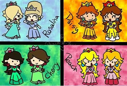 Peach Yoshi Deviantart Skool Princess Super Mario