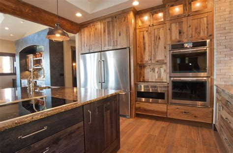 garage kitchen cabinets gallery mountain log homes of colorado 1192