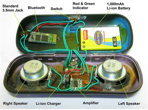 Portable Speaker Wiring Diagram by Diy Bluetooth Speaker 9 Steps With Pictures