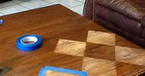 Coffee Table Makeover (without Paint!) Hometalk
