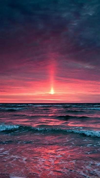 Vertical Portrait Sunset 1080p Sky Nature Landscape
