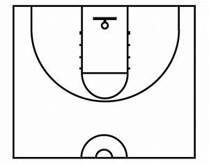 Basketball Half Court Diagrams Printable