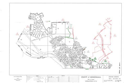 Monongalia County Index Maps