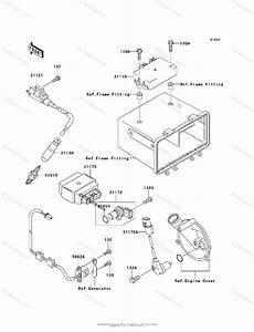 Kawasaki Atv 2003 Oem Parts Diagram For Ignition System