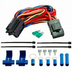 Electric Fan Wire Harness Kit Dual 12v Radiator Fans
