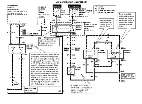 1998 A C Compressor Wiring Diagram by 1997 Ford Taurus A C Compressor Will Not Activate