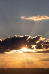 Sun, Rays, Clouds, Free, Stock, Photo