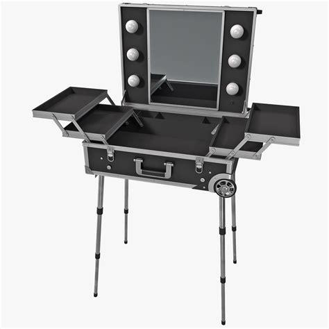 3d Portable Makeup Stand Model. Cool Desks. Studio Console Desk. Kids Desk Target. Modern Outdoor Dining Table. Ikea Desk Top Sizes. Salon Station Drawers. Desk Covers Glass. Carpet Ball Table