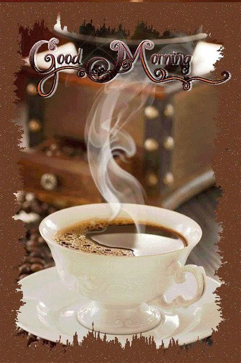 steaming coffee good morning pictures   images