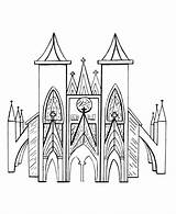 Church Coloring Outline Drawing Medieval Churches Buttress Flying Sheets Gothic Cathedral Printable Colouring Architecture Bluebonkers Study Unit Getdrawings Activity sketch template