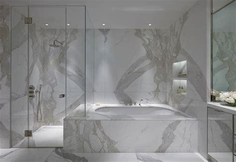 statuario marble contemporary bathroom todhunter