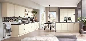 Nobilia Küchen Fronten : flair 424 magnolia matt moderner landhaus stil nobilia k chen ~ Orissabook.com Haus und Dekorationen