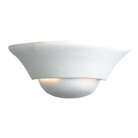 paintable wall sconce checkolite international 5018 20 paintable ceramic wall