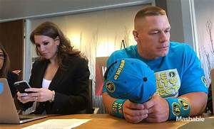Hogan, Cena, McMahon bring WrestleMania to Twitter HQ, brother