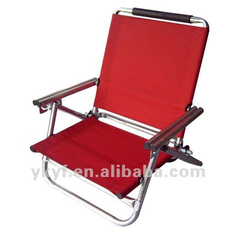 siege de plage pliante pliable bas plage de siège chaise avec réglable
