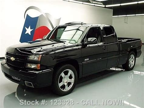 find   chevy silverado ss ext cab sunroof htd