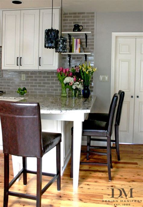 Kitchen Counter Add On by Add Open Shelves To The End Of The Cabinets Extend