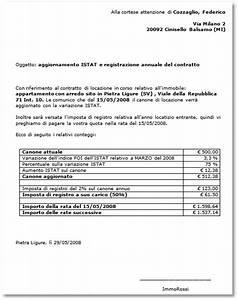 Lettera di notifica di aggiornamento ISTAT Blog Affitti