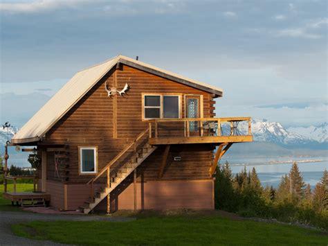 alaska cabin rentals log cabins and vacation rentals overlooking kachemak bay