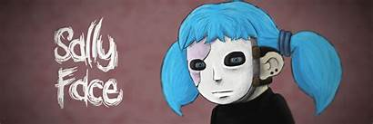 Sally Face Mask Sallyface Updated Profile Moose