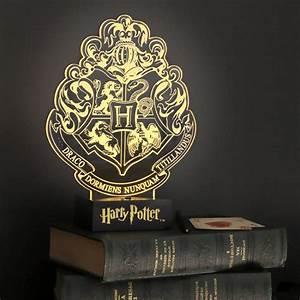 Lampe Harry Potter blason de Poudlard par Paladone