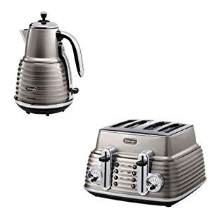 toaster and kettle set delonghi delonghi green kettle and toaster set
