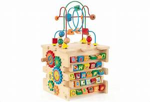 Cube En Bois Bébé : cubes en bois naturel kidkraft jouet en bois 2 ans apesanteur ~ Dallasstarsshop.com Idées de Décoration