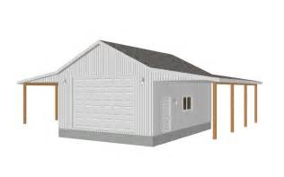 fresh garage and shop plans garage plans 8002 18 24 x 32 x 12 detached