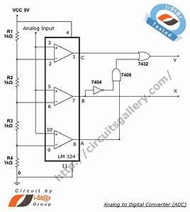 Analog To Digital Circuit Page 2   Digital Circuits    Next Gr