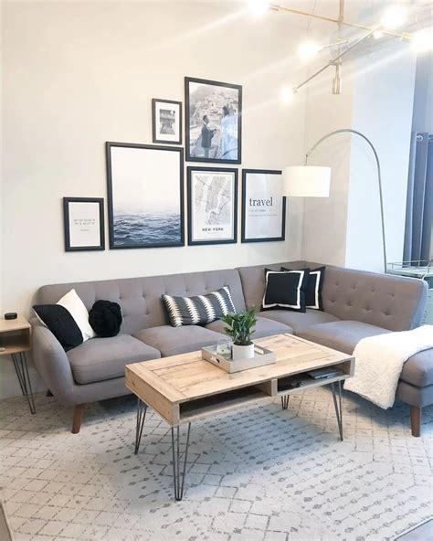 lucienne geometric gray rug   living room design