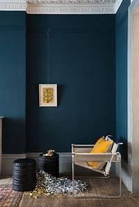 decoration interieur peinture marier les couleurs cote With marvelous couleur peinture mur 2 peinture bleu canard idees peinture mur