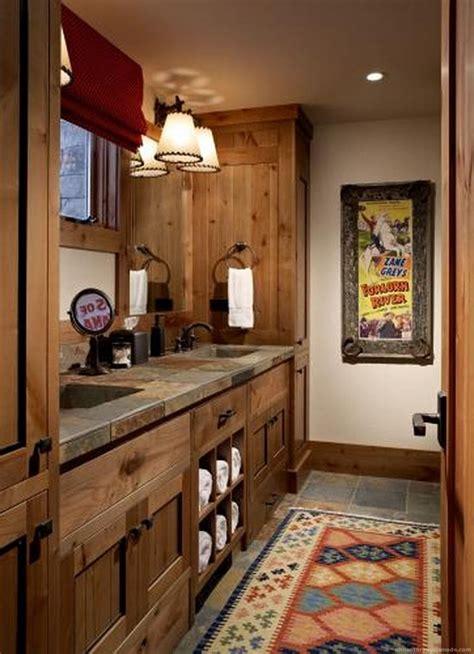 Rustic Bathroom Decor by Modern Bathroom Rustic Decor Ideas 26