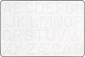 Pegboard letters 272 hama for Large pegboard letters