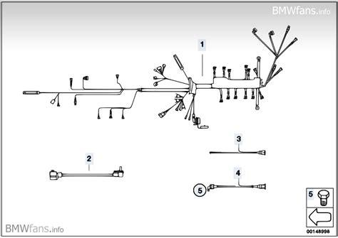 engine wiring harness bmw 3 e30 318i m40 bmw parts
