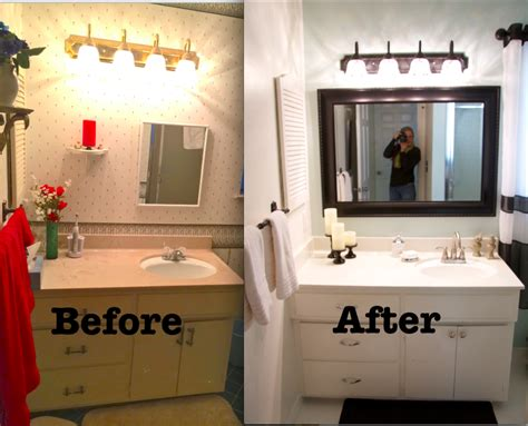 ideas for renovating small bathrooms leaving the ivory tower budget bathroom remodel