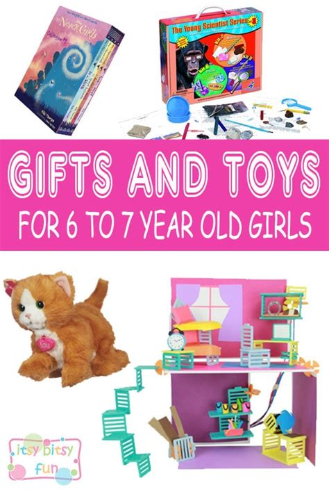 christmas gift ideas for 7 year old daughter best gifts for 6 year in 2017 itsy bitsy