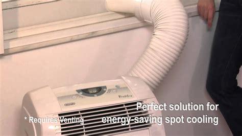 delonghi portable air conditioner youtube