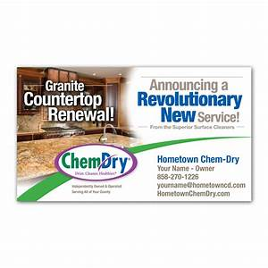 chem dry business card magnets franchise print shop With kitchen cabinets lowes with business card stickers