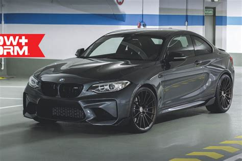 a mineral gray bmw m2 gets hre ff15 flow form wheels
