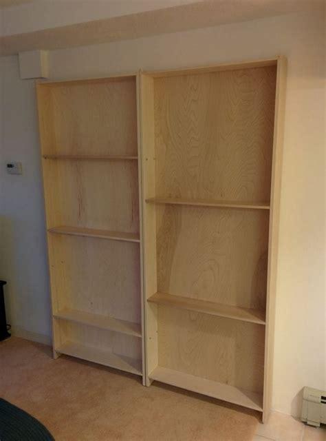 diy hidden bookcase door