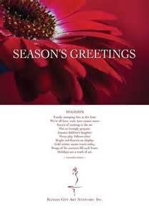 kestner seasons greetings cards