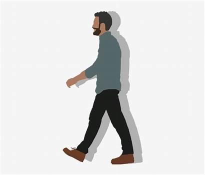 Walking Cartoon Clip Transparent Freeuse Human Pngio