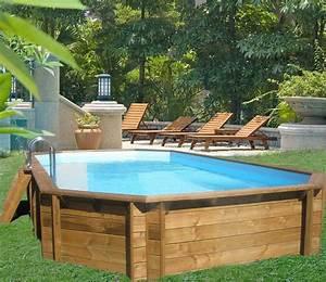 Tarif Piscine Enterrée : nos piscines hors sol avec habillage bois d tente o ~ Premium-room.com Idées de Décoration