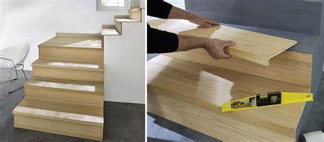 kit cuisine du monde rénover un escalier des kits pour habiller de bois des marches d escalier